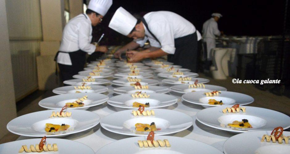 """""""La cena delle stelle""""... dietro le quinte con sette Chef"""