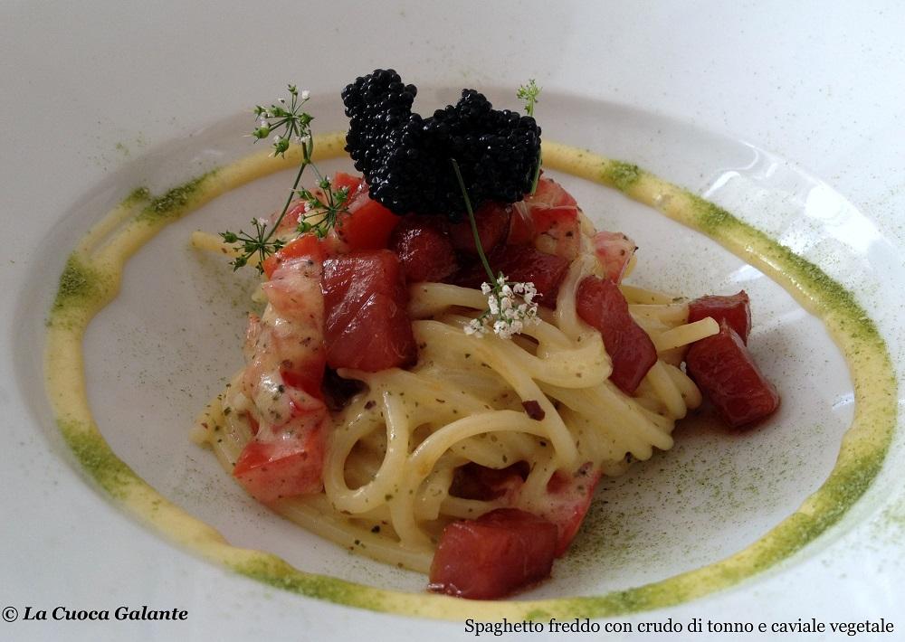 Ristorante Angelo Sabatelli - spaghetti crudo tonno