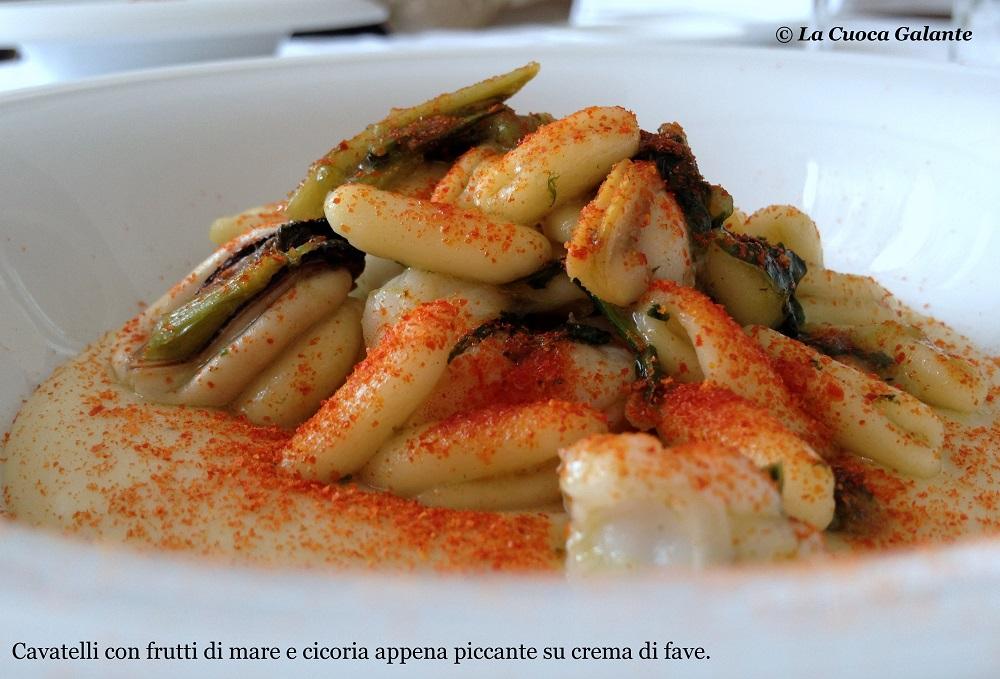 Ristorante Angelo Sabatelli - cavatelli purea di fave
