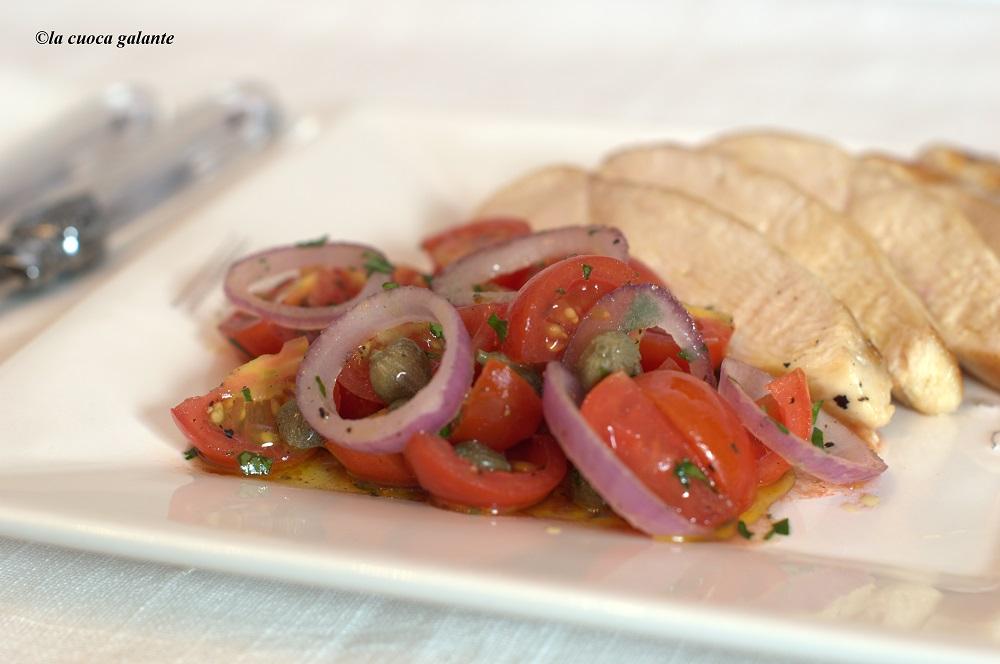 insalata con pollo arrosto