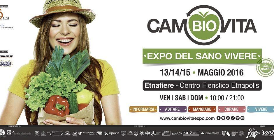 CamBIOVita Expo arriva in Sicilia la fiera green.
