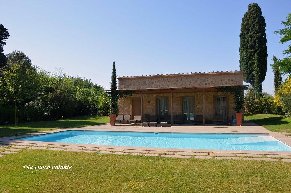 Toscana Resort Castelfalfi - la piscina