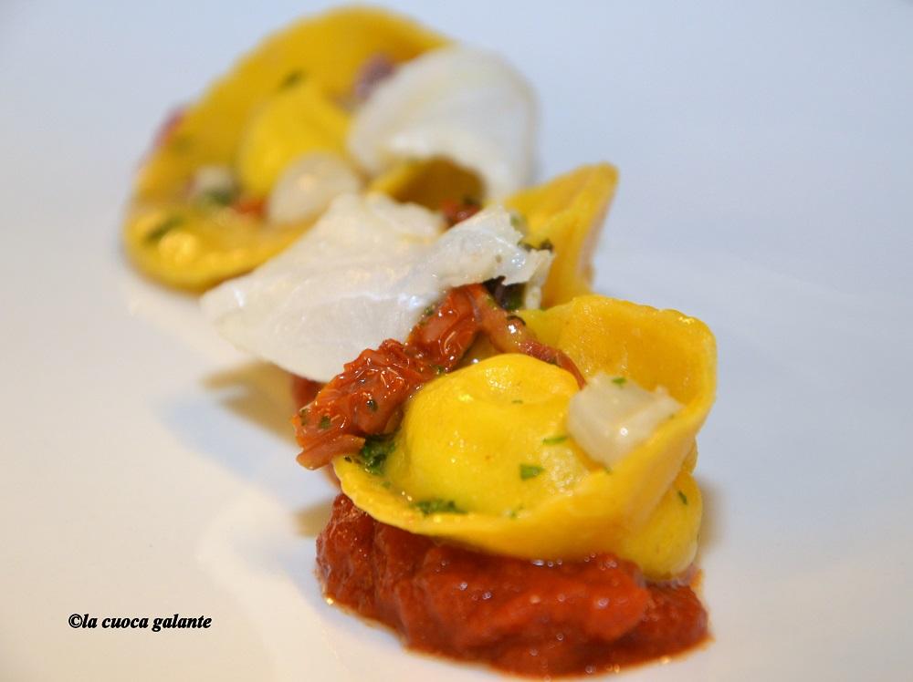 ristorante la rocca di Castelfalfi - tortelli