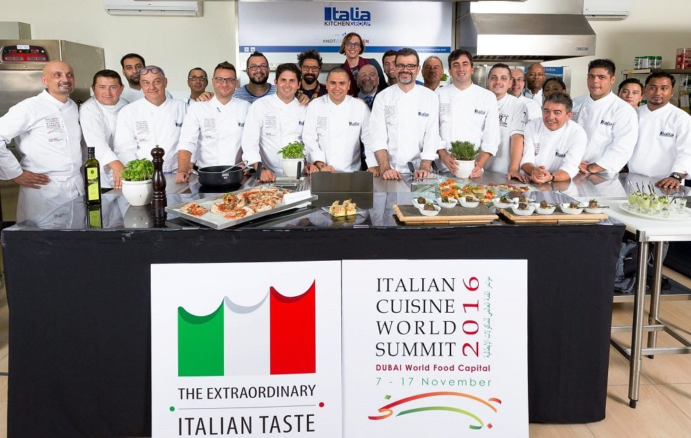 Italian Cuisine World Summit 2016