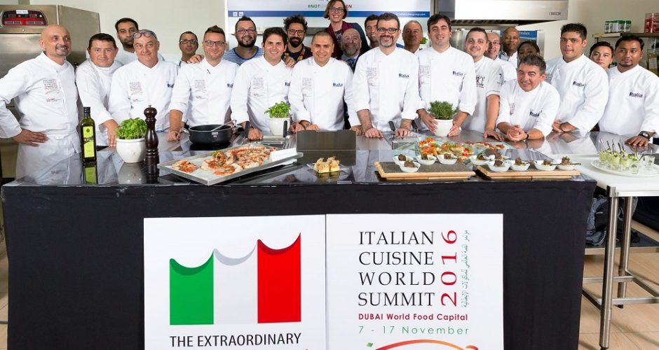 Italian Cuisine World Summit 2016