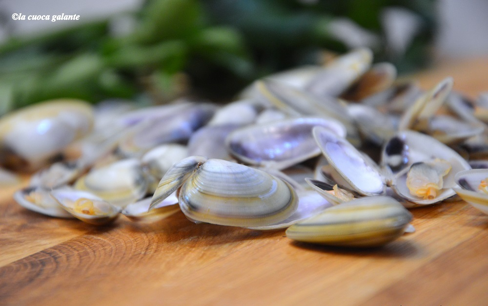 ricette con frutti di mare - telline