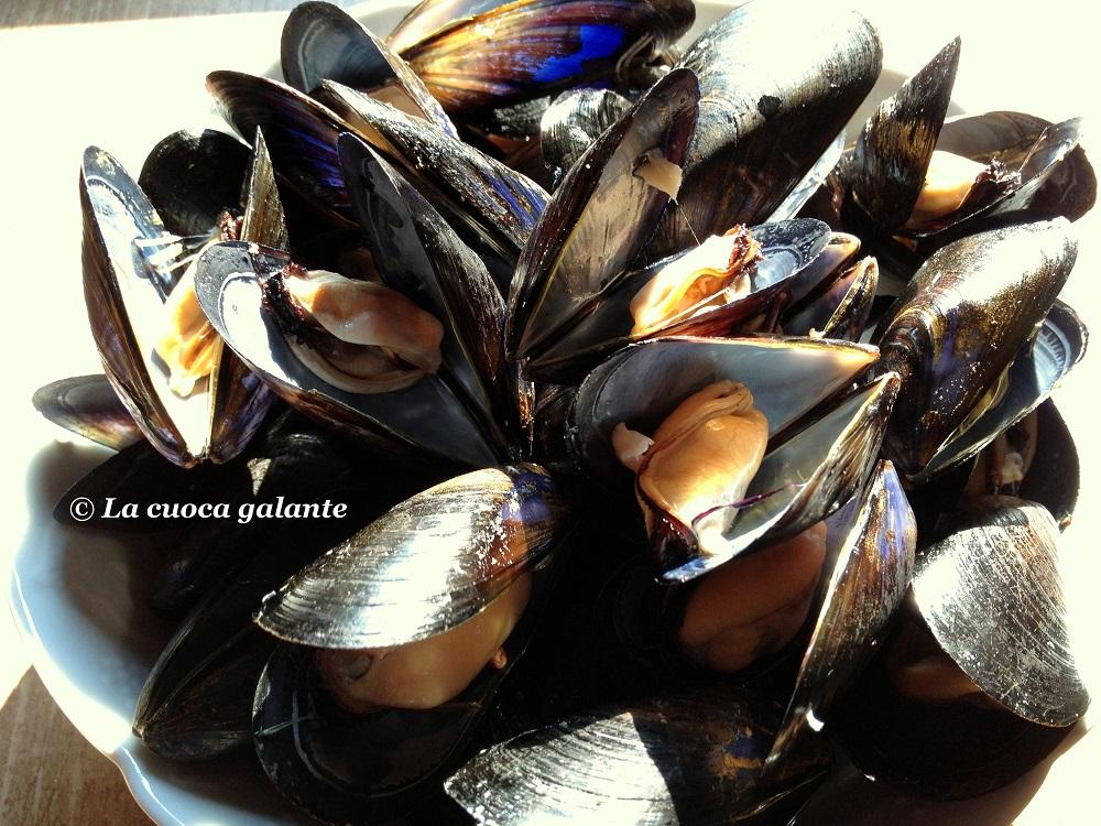 ricette con frutti di mare - cozze