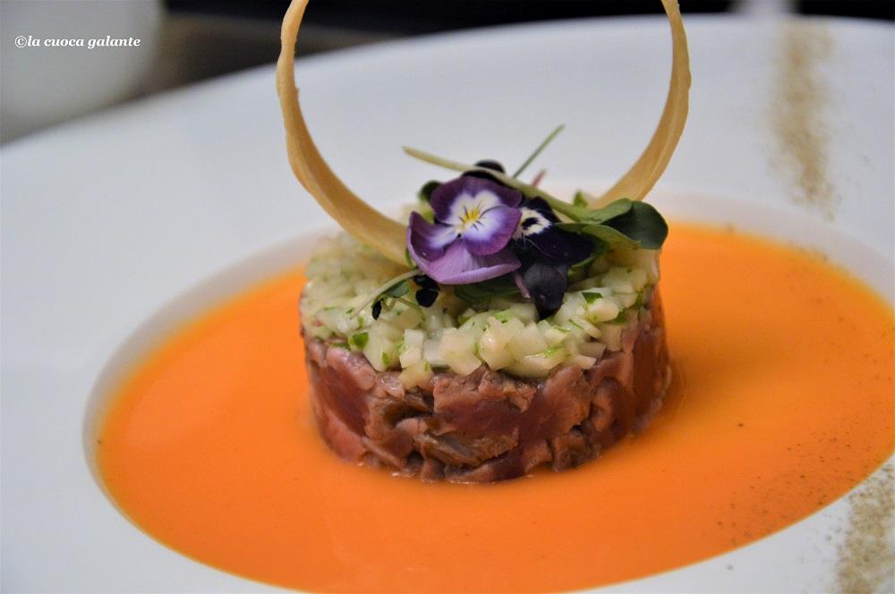 Sicilia Continente Gastronomico - tartare di asina