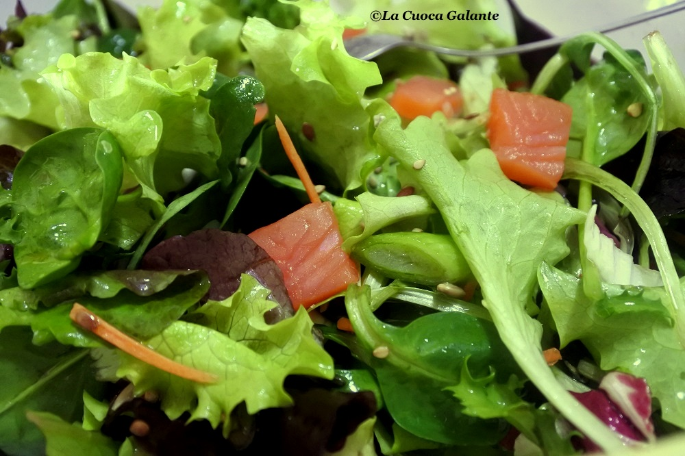 insalata - Salmone affumicato Loch Fyne