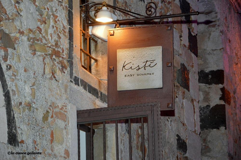 ristorante Kisté-Insegna