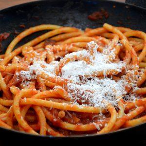 Amatriciana … un piatto ricco di storia e di sapore.