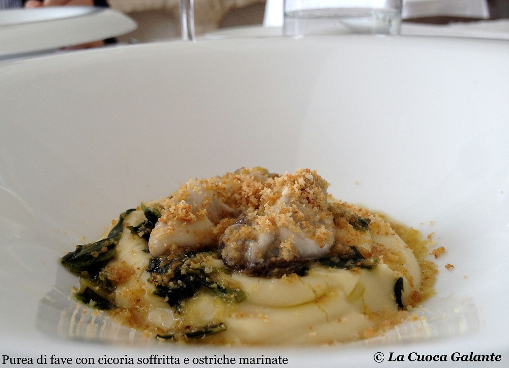 Ristorante Angelo Sabatelli - ostriche marinate