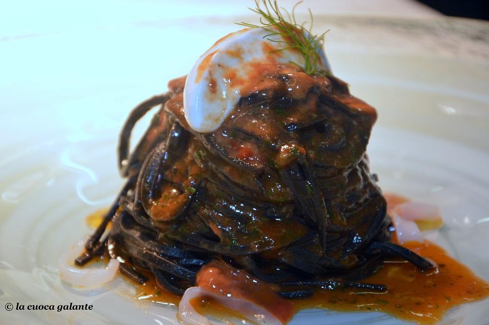 Ristorante Locanda Don Serafino - tagliolini al nero di seppia