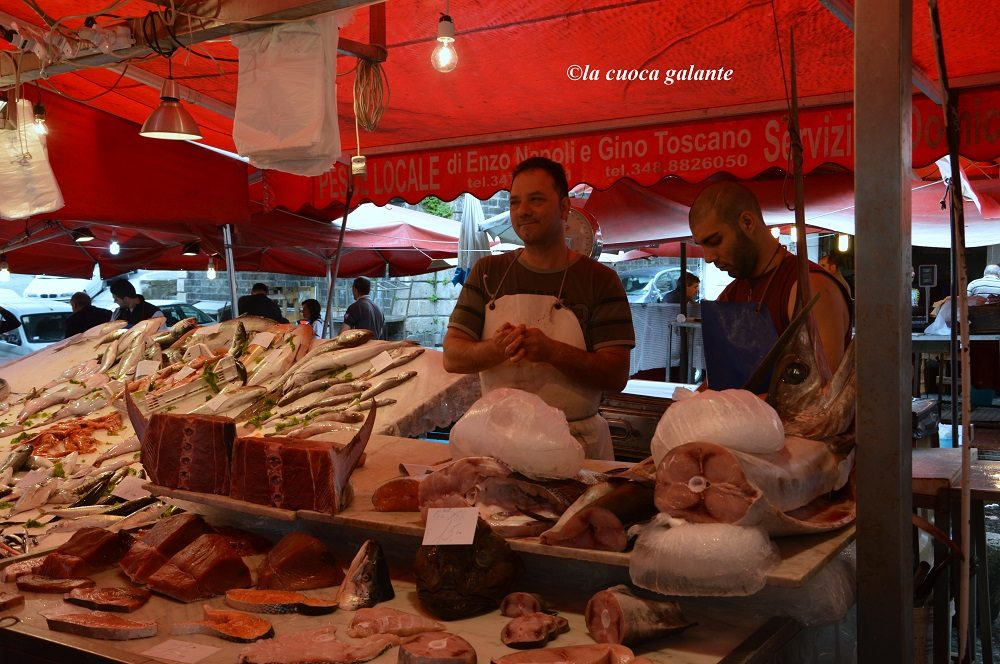 'A Piscaria: il mercato del pesce di Catania.