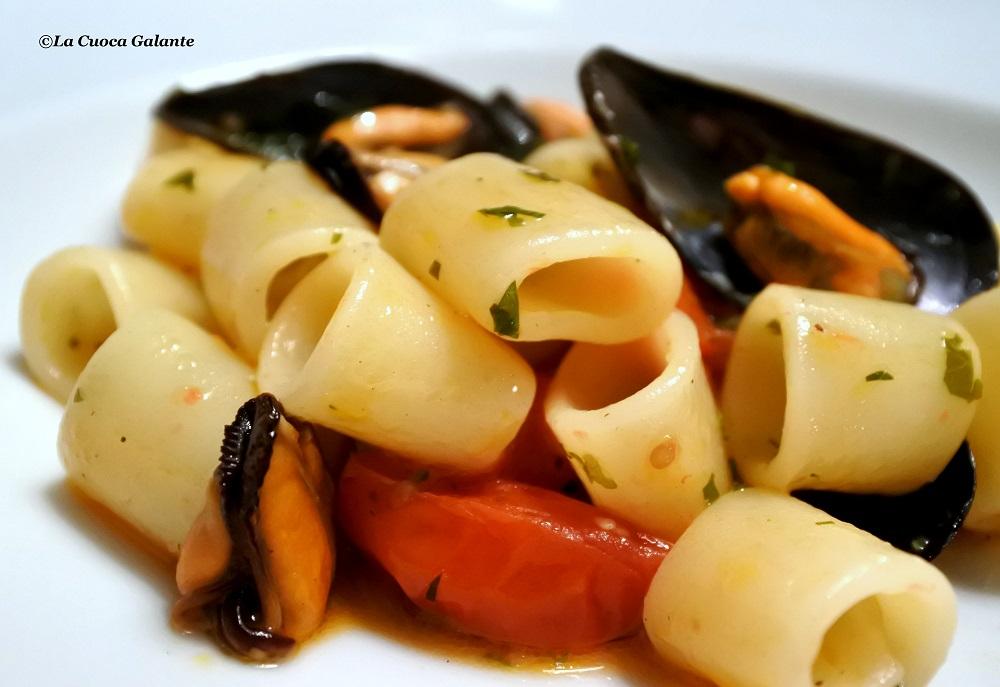 Pasta con le cozze … I love you !!