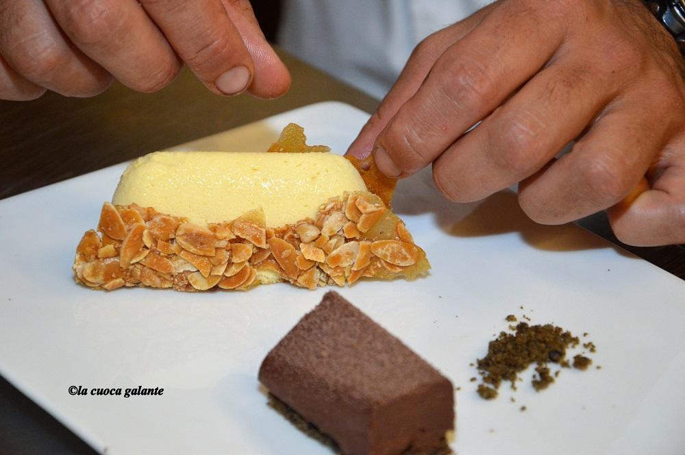 ristorante la rocca di Castelfalfi - dessert