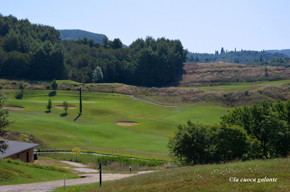 Toscana Resort Castelfalfi - il campo da golf