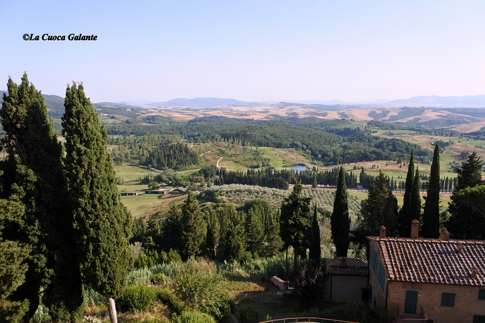 ristorante la rocca di Castelfalfi