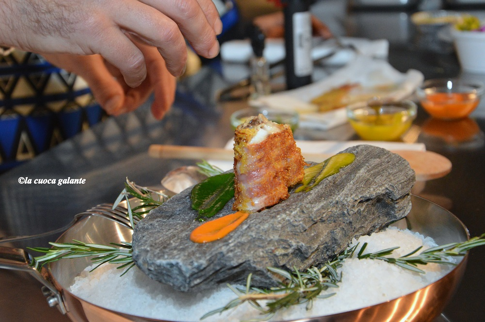 ristorante La Capinera - triglia croccante