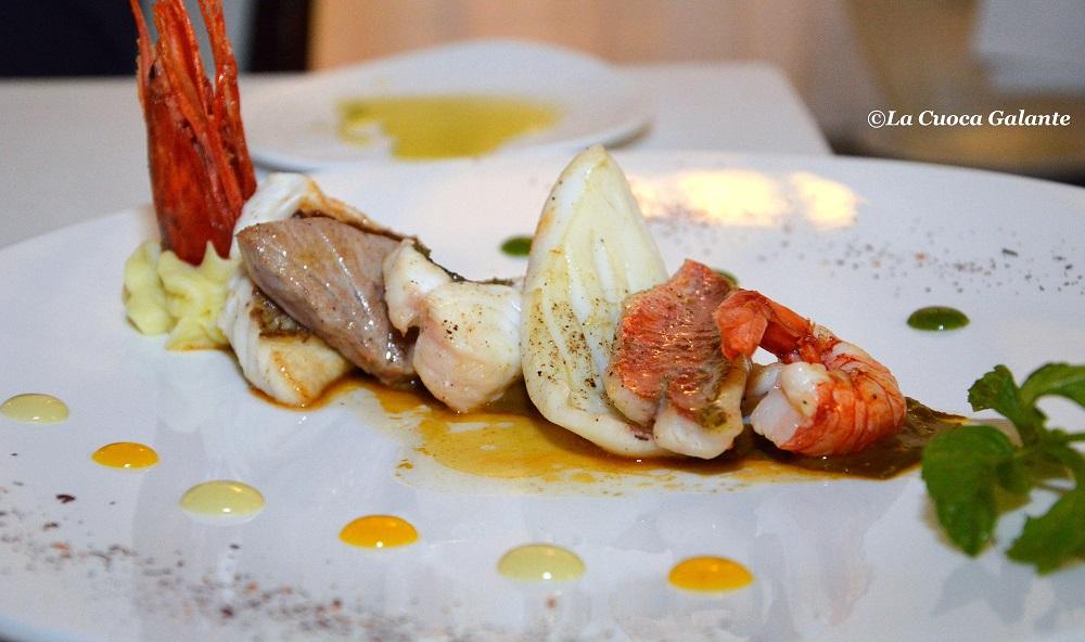 ristorante La Capinera - arrosto di mare