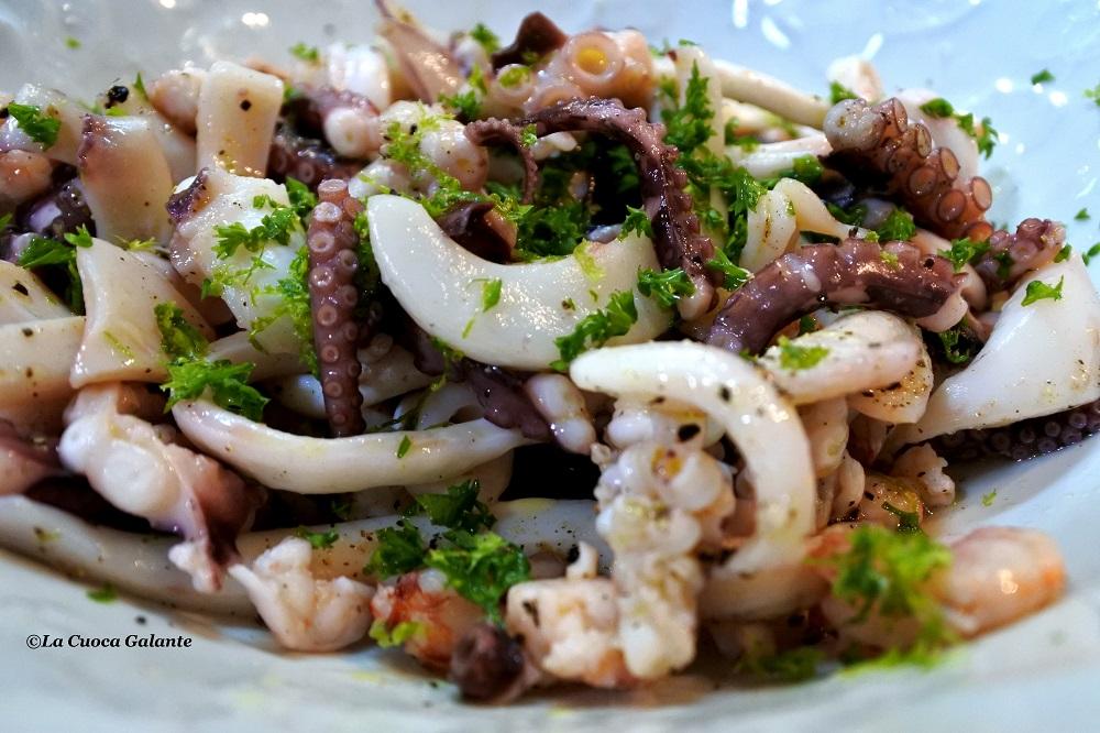 insalata di mare della vigilia