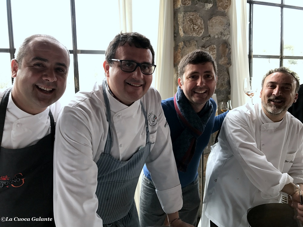 Guarino-Barrale-D Agostino-Scarallo- chef Chic
