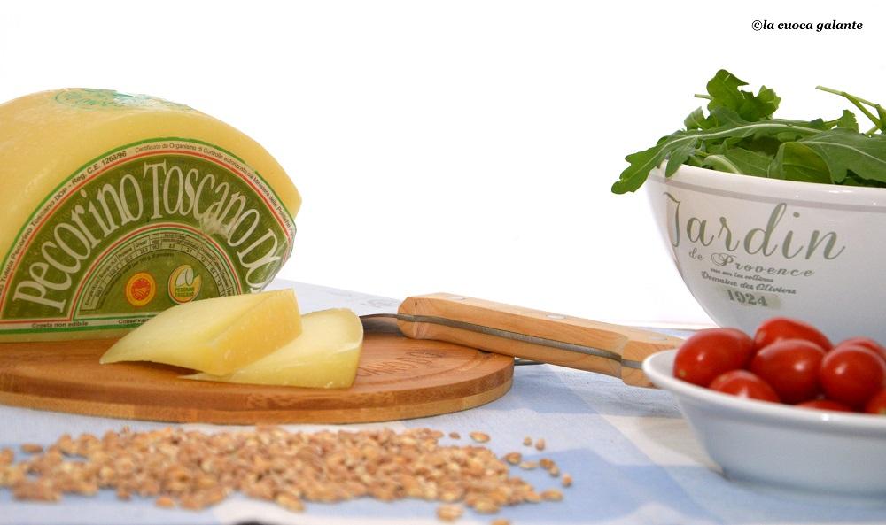 insalata di farro con pomodorini