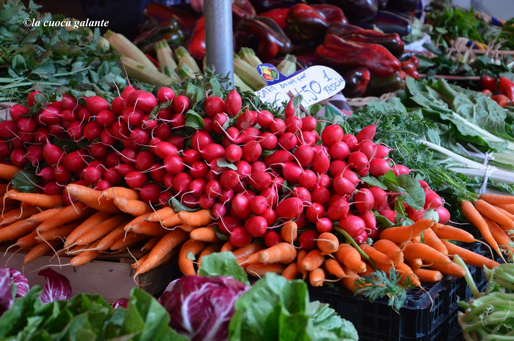 Piramide alimentare - verdura